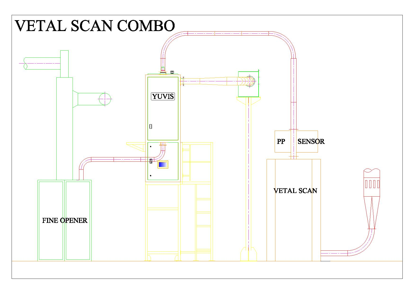 Drawing for VETAL SCAN COMBO-Model-page-001